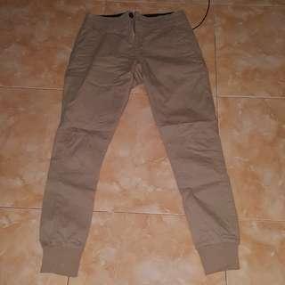 Celana chino jogger original cotton on
