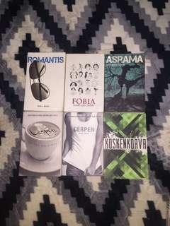 Koleksi buku indie buku fixi kitab terfaktab lejen press buku puisi rabak lit