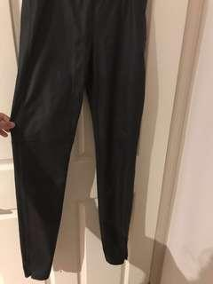 Bardot leather tights