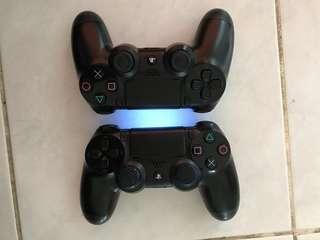 ds4 controller v1 x2 (good condition)