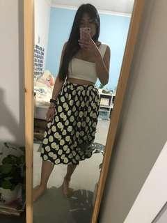 The White Pepper Egg Print Skirt
