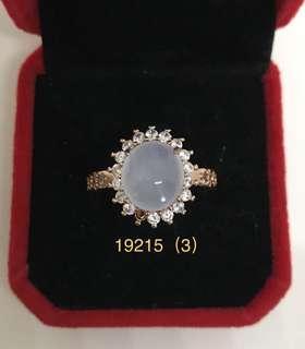冰種玉蛋面配✨紅銅/925銀✨戒指