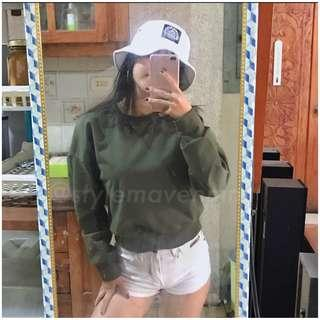 Army Green Pullover
