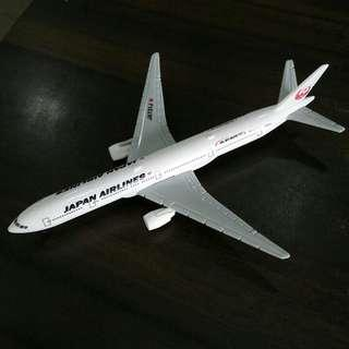 Japan Airlines JAL Boeing 777 Airplane Model