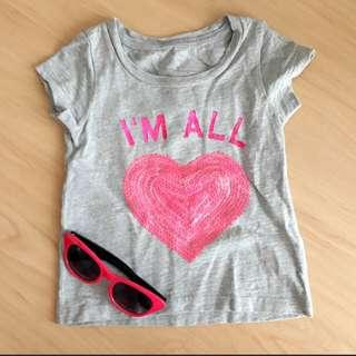 9mths Tshirt with Sequins