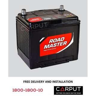 NS60L Car battery Century Roadmaster for HONDA (Civic, Accord), NISSAN (Livina, Sylphy, Almera, Latio, March, Skyline) Bateri Kereta FREE Delivery > Installation for Klang Valley
