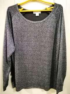 Cotton On - Glittery Long Sleeves