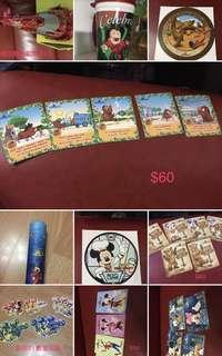 Hong Kong Disneyland 迪士尼貼紙襟章非賣品