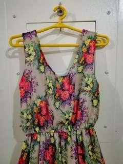 Bangkok Long Dress - Floral