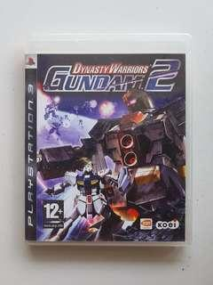 Ps3 Dynasty Warriors Gundam 2 Game
