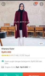 Khanara outher maroon. masih baru masih ada tag