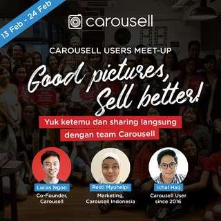 Carousell User Meet-up 2.0 - Better Picture, Better Sell