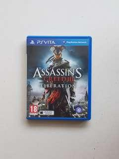 PsVita Assassin's Creed III Liberation Game