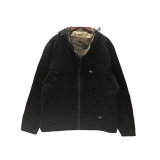 🚚 厚磅連帽外套(黑/咖)
