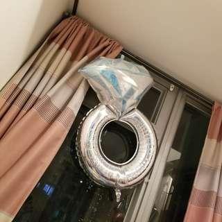 特大介指形氣球,求婚必備