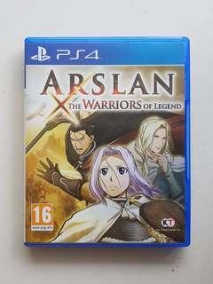 Ps4 Arslan The Warriors of Legend Game