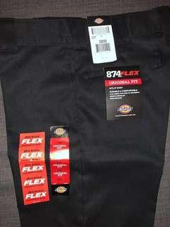 Dickies Pants - 874 FLEX Original Fit - Black