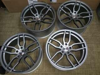 5x120 (f) 8.5et15 (r) 9.5et20 19in for BMW