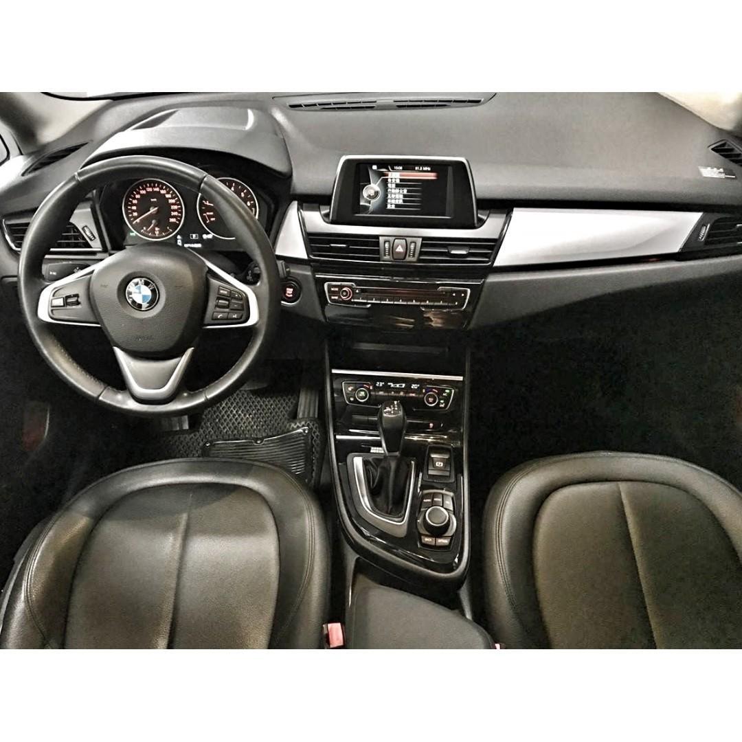 2014年 BMW寶馬 218I 1.6(藍)汽油 總代理