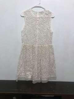 Self portrait inspired dress