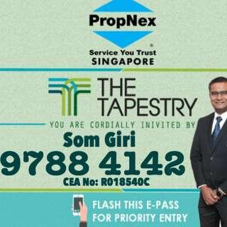 Call Developer Appointed Sales Team @ 9788 4142 : The Tapestry