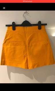 Zara high waist short