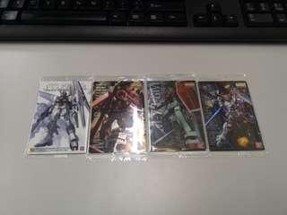 高達餅卡,gundam card ,全清,打包價