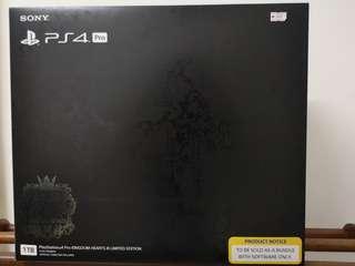PS4 PRO Kingdom Hearts 3 Limited Edition