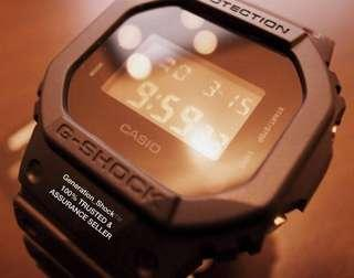 🚚 BEST🌟SELLING in G-SHOCK DIVER WATCH: 1-YEAR OFFICIAL CASIO-AGENT WARRANTY: 100% Original Authentic G-SHOCK : Best For Most Rough Users & Unisex : DW-5600BB-1DR / DW5600BB-1DR / DW-5600BB-1 / DW5600BB-1 / GSHOCK / WATCH