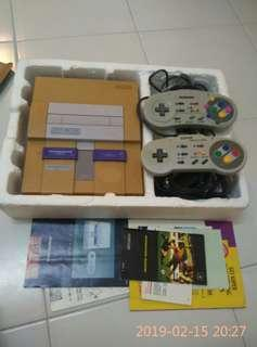 Super nintendo entertainment system vintage