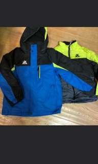 男孩滑雪外套(兩件套)+滑雪褲