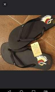 NEW A & F Flip Flops Abercrombie & Fitch