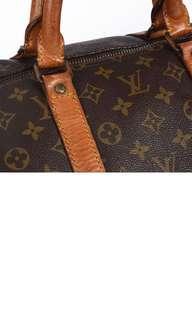 Authentic LV Keepall 45 Monogram Bag