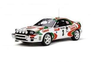 全新Otto mobile 1/18 Toyota Celica ST185 Monte Carlo Rally