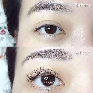 Eyelash Lifting/Eyelash Perming Package