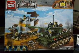 Combat zone building blocks
