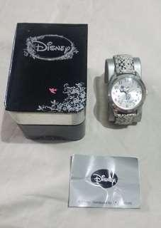 Silver Mickey Mouse watch