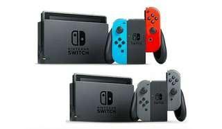 Nintendo Switch neon LOCAL SET