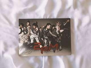 RARE Autographed/Signed 2PM First Single - Hottest Time of the Day (Signed by all 7 original members)
