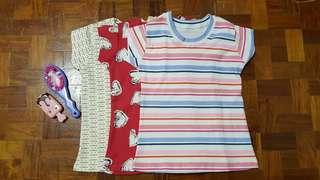 Cotton Shirt Set of 3