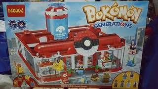 Bokemon building blocks