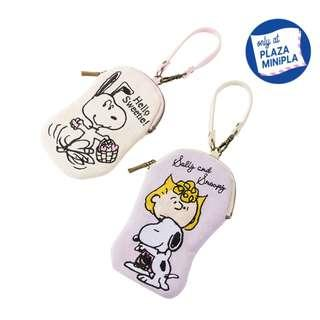 [PO] Peanuts Snoopy Canvas Charm Pouch