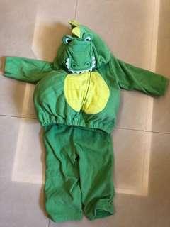 🚚 Carters 萬聖節恐龍裝 - 18個月