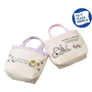 [PO] Peanuts Snoopy Canvas Tote Bag