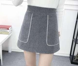 灰色裙褲 pant skirt
