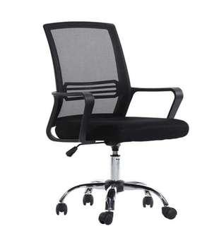 Swivel chair black furniture