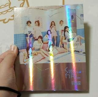 🚚 Twice Unsealed Pink Signal Album