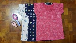 T Shirt Top Set of 3