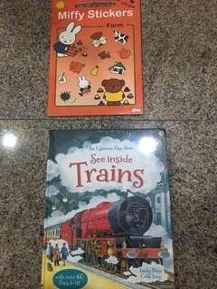 BNIP Usborne See Inside Trains
