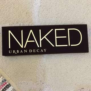 Almost new Urban Decay eye palette Naked